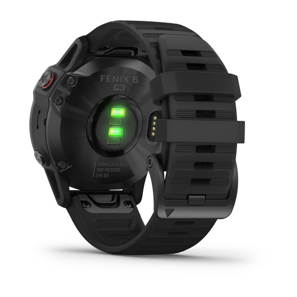 fenix 6 Pro Black with Black Band (8)